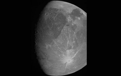 New images from NASA show Jupiter's largest moon