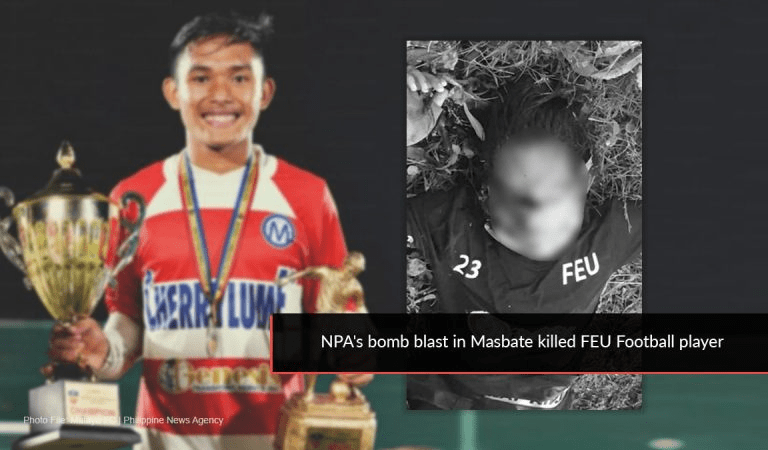 Pangilinan offers condolences to family of FEU football player Absalon