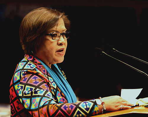 De Lima welcomes help from Israel experts on PH COVID-19 vaccine rollout