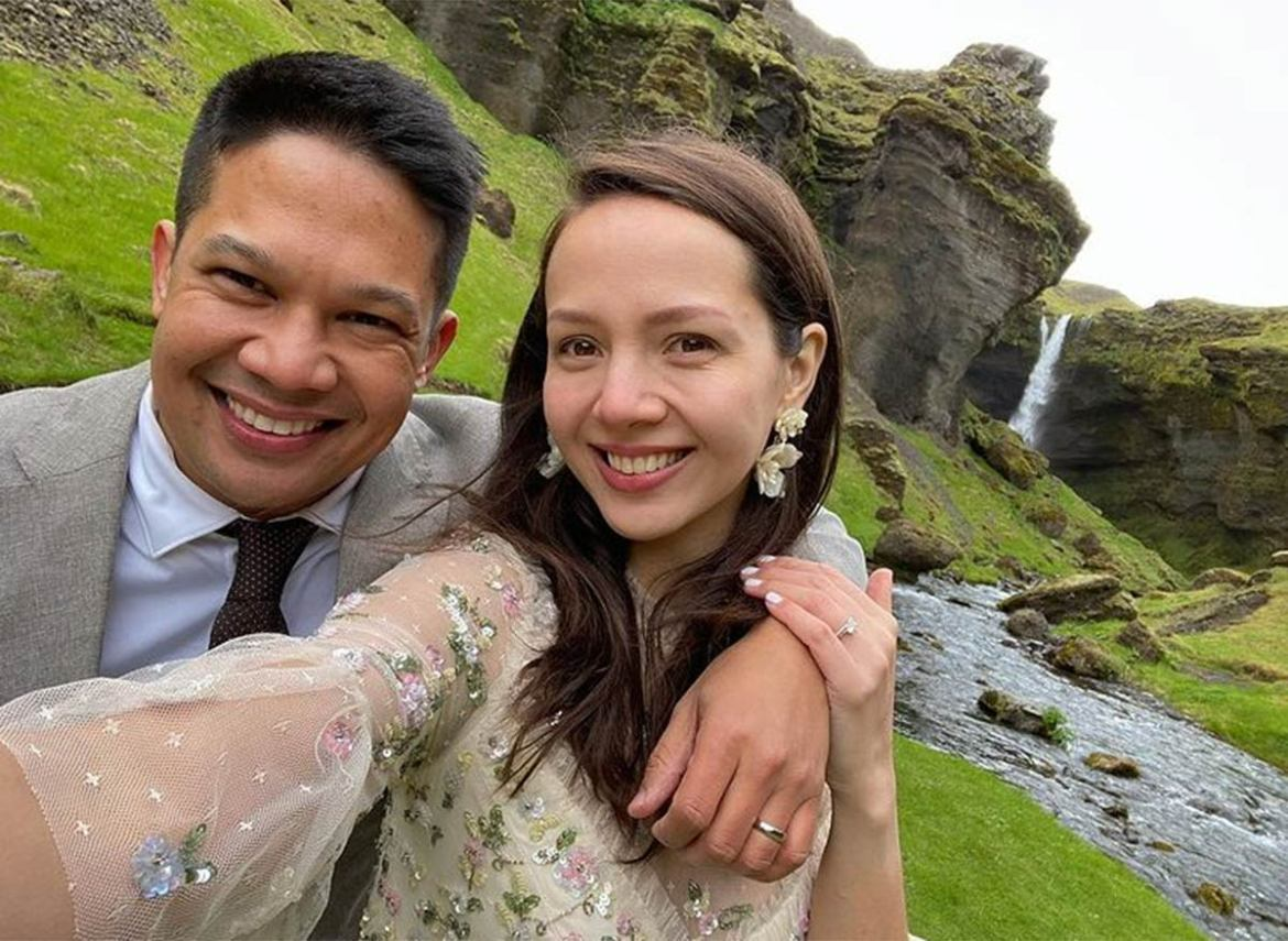 DJ Mo Twister marries long-time partner Angelicopter in Iceland