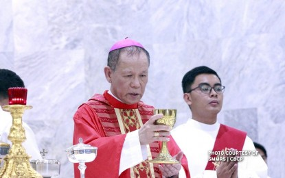 Only 400 guests allowed at installation of Cardinal Advincula