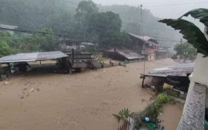 'Dante' dumps heavy rains, causes floods in Leyte, Southern Leyte