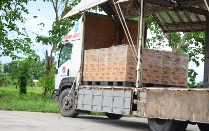 Almost 11K food packs readied for storm-hit E. Visayas