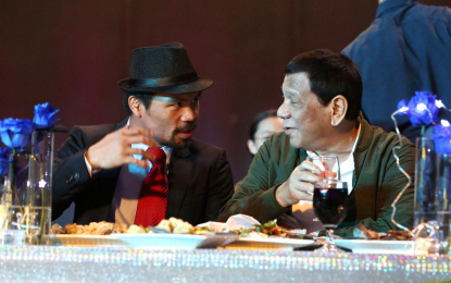 Pacquiao's corruption claim 'completely surprised' PRRD