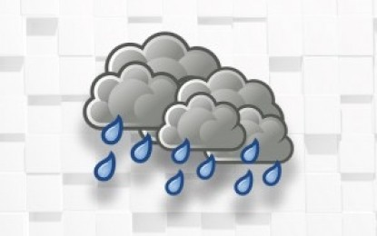 Monsoon trough to bring scattered rains over Luzon, W. Visayas