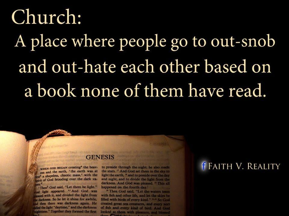 Being Christian should be evident in our lives . . .