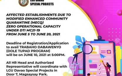 Applicants pour in for Davao City's emergency employment program