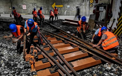 MRT-3 rehabs service with new reinforced sleepers