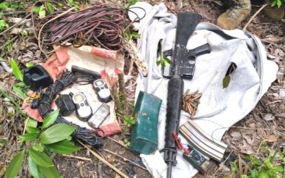 Gov't troops discover Reds' arms cache in Mt. Province