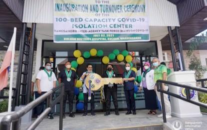 BARMM opens another Covid-19 facility in Maguindanao