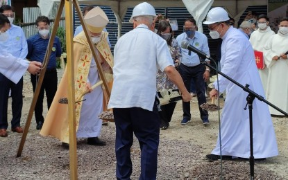 Manila archdiocese breaks ground for new Pandacan church