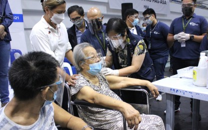 Pasig rolls out J&J vax for seniors, persons with comorbidities