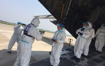 Pilot in C-130 crash once flew in PRC medical supplies from China
