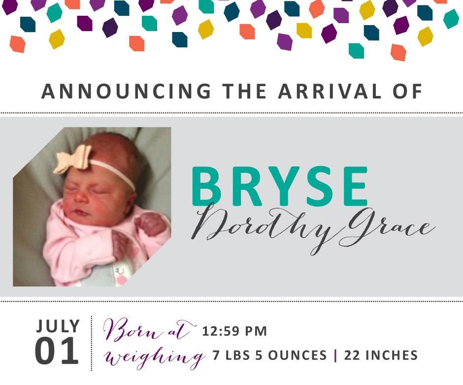 Bryse Dorothy Grace 2