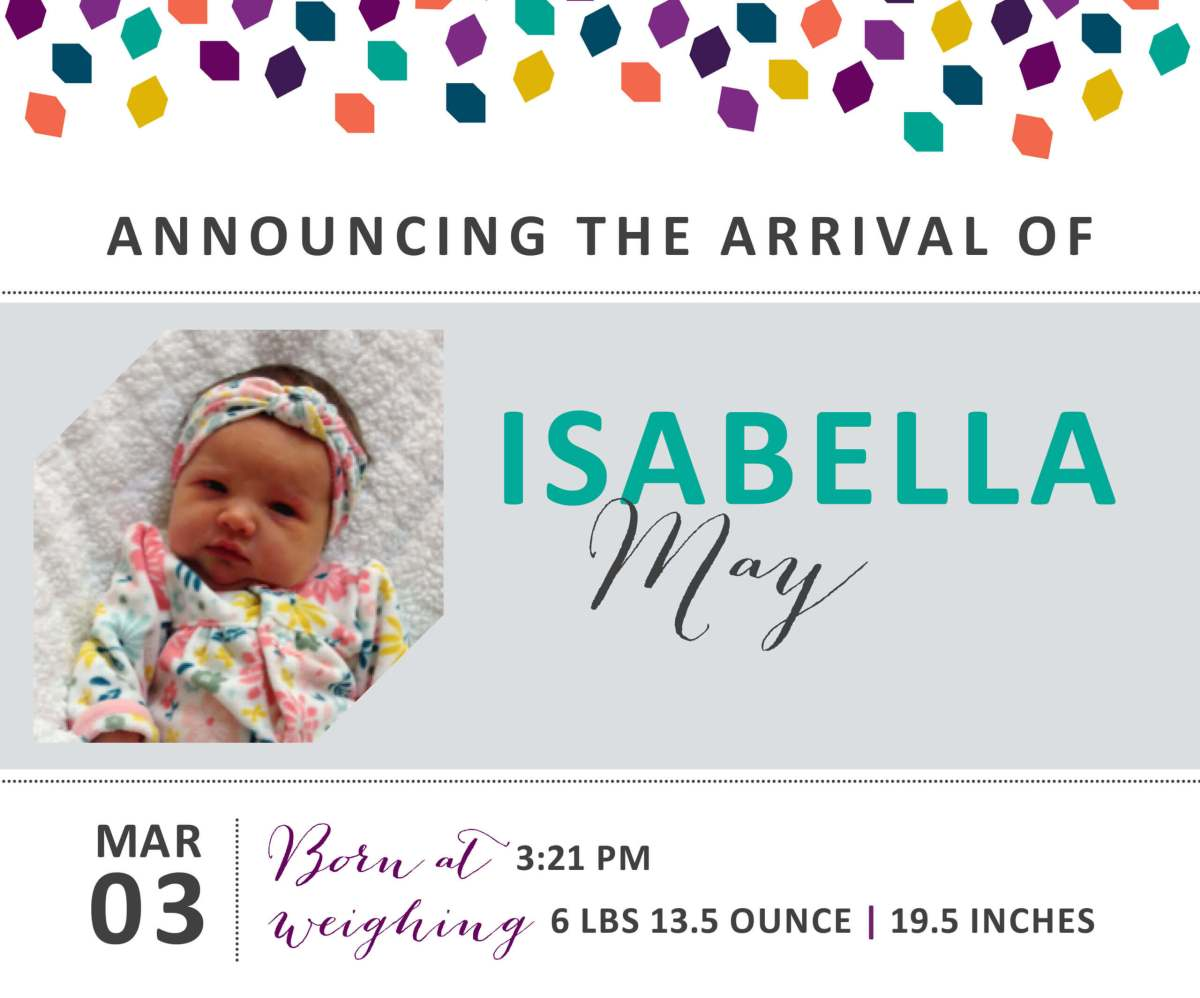 Isabella May 4