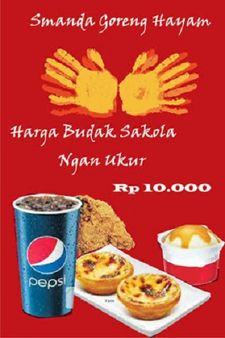 gambar iklan makanan