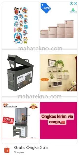 iklan display dan contohnya