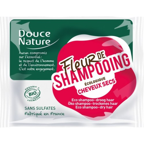 Fleur de Shampoing Bio pour Cheveux Secs by Douce Nature - Ma Healthy Tendency