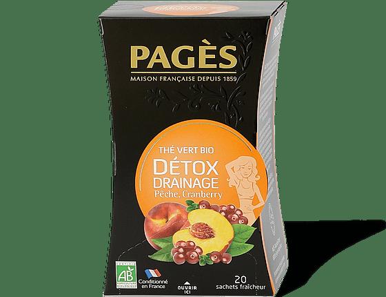 pages detox the vert peche cranberry