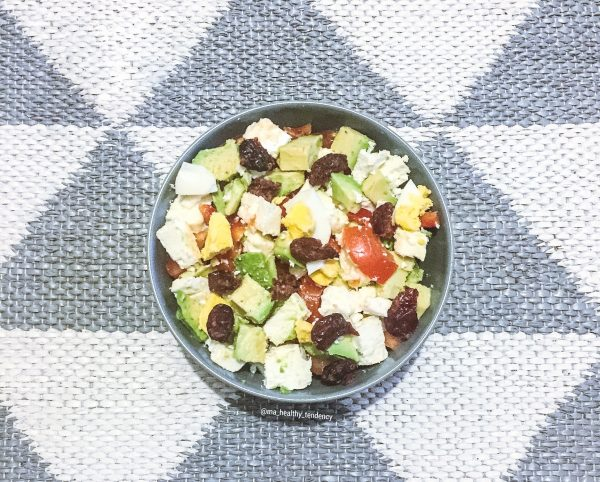 Salade Bowl - Salade healthy - ©Ma Healthy Tendency