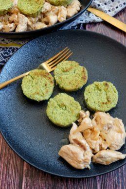 flans de courgette poulet cidre mahealthytendency