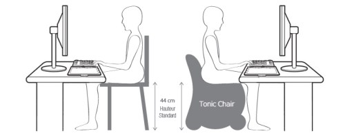 Tonic Chair Chaise Ergonomique Tonifiante Ma Healthy Tendency