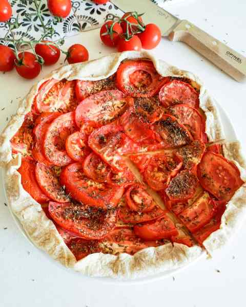 Tarte Fine Moutarde Tomates Ma Healthy Tendency
