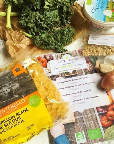 Recettes et Cabas - Ingrédients recette - Ma Healthy Tendency