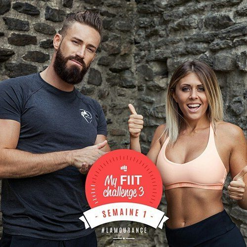 My fiit challenge - Programme HIIT - Justine Gallice et Thibault Geoffray - Ma Healthy Tendency