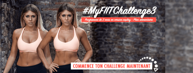 My fiit challenge - Replay - Thibault Geoffray et Justine Gallice - Ma Healthy Tendency