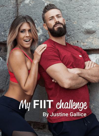My fiit challenge Justine et Thibault Programme HIIT - Ma Healthy Tendency