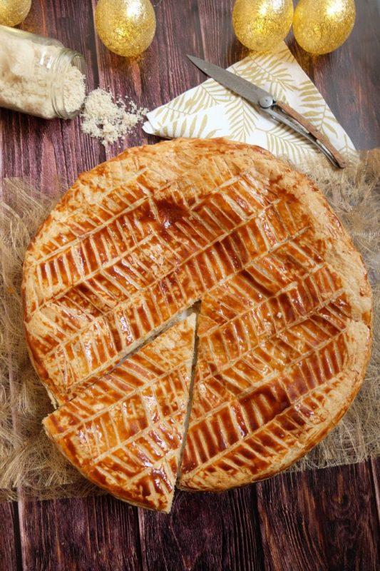 Galette des Rois Frangipane sans beurre & sans sucre en poudre - Recette Ma Healthy Tendency