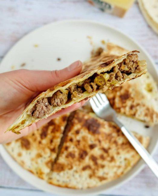 Quesadillas Boeuf Curry & Comté Recette Ma Healthy Tendency