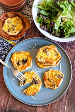 mini quiches vegetariennes mahealthytendency