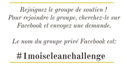 Groupe Facebook - Mahealthytendency