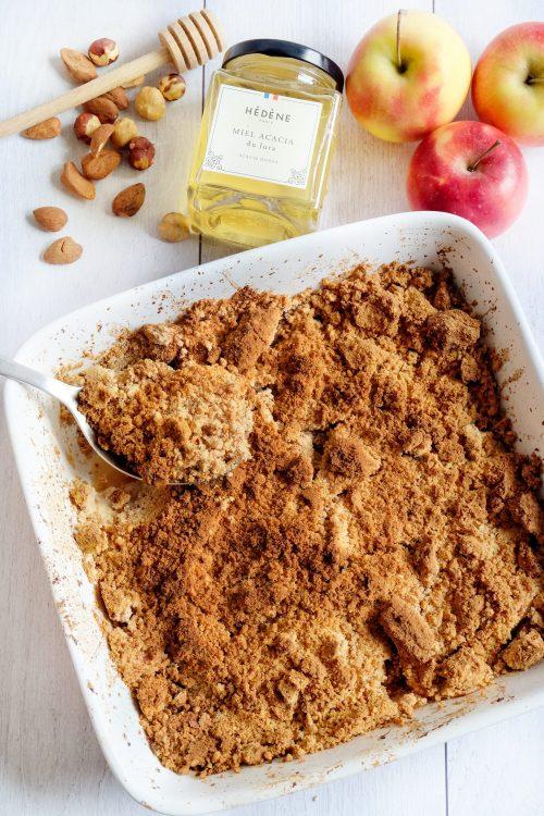 Crumble de Pommes - Recette Ma Healthy Tendency