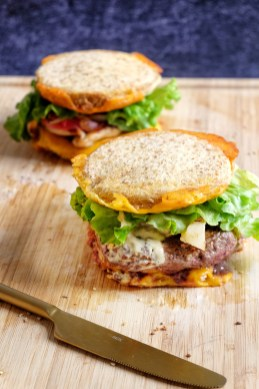 Burger maison mahealthytendency revisite king toast