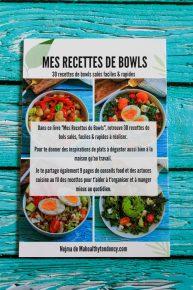livre mes recettes de bowls 4eme couverture