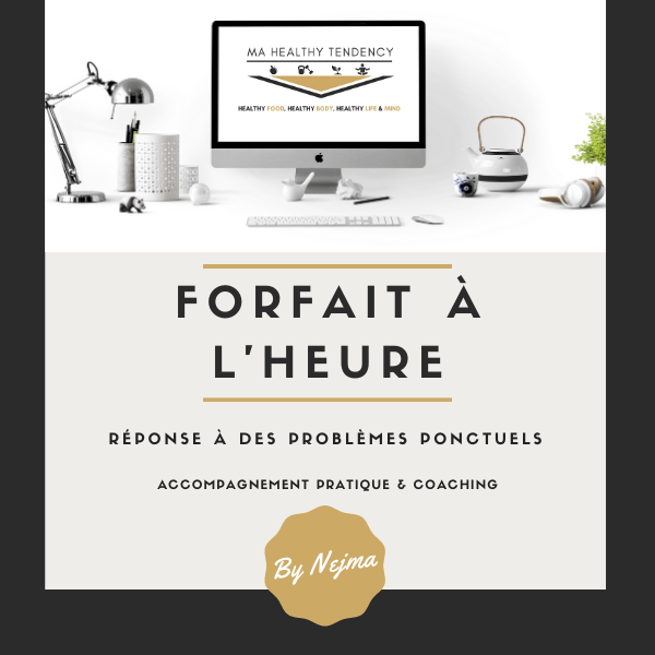Forfait Heure - Coaching Web - Mahealthytendendy.com