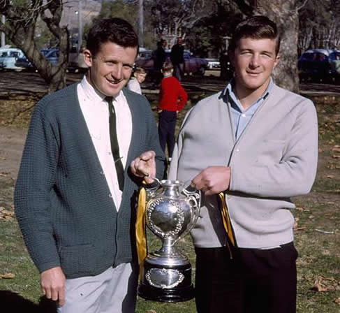 Maher Cup at Anzac Park 1965