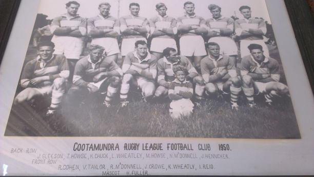 Cootamundra 1950 Team