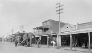 Wirth's Circus in Sheridan Street, from Dr. Gabriel's photos.