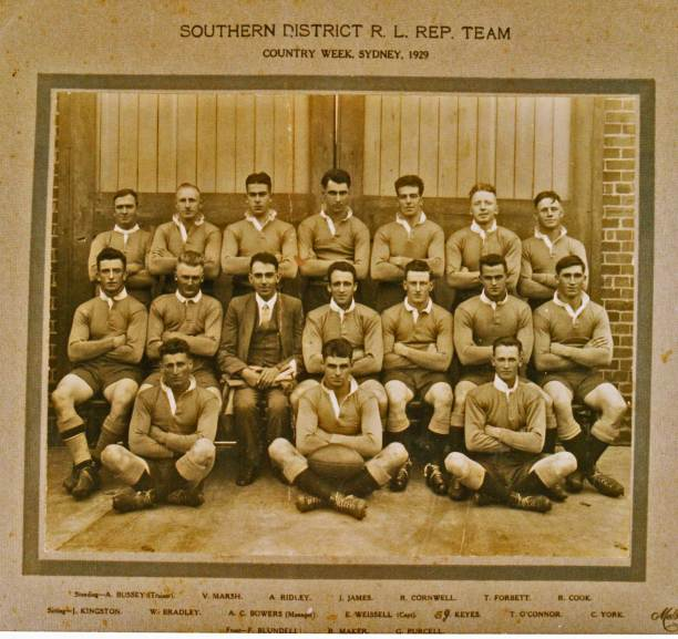 The Southern Districts team of 1929. Courtesy: The Wal Galvin collection