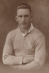 Bluey Freestone in a NSW guernsey 1928.  Source: Wal Galvin