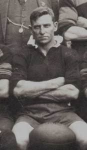 Charles 'Chook'Fraser with in 1927 Gundagai team