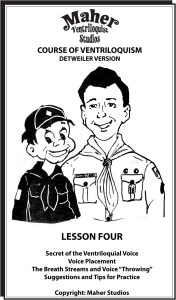 Maher Course of Ventriloquism Lesson Four