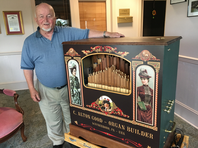 Al Good's Hand Built Wooden Organ