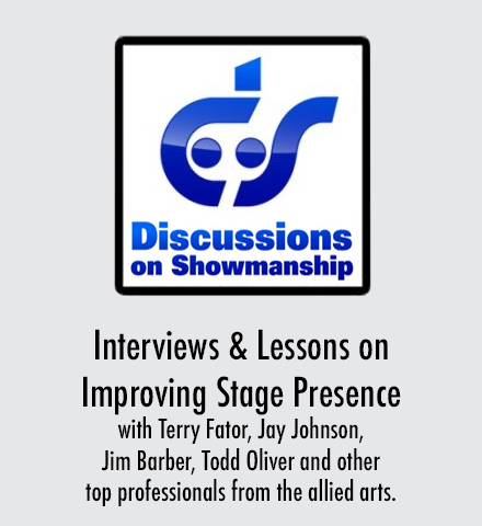 Discussions On Showmanship - Improving Stage Presence