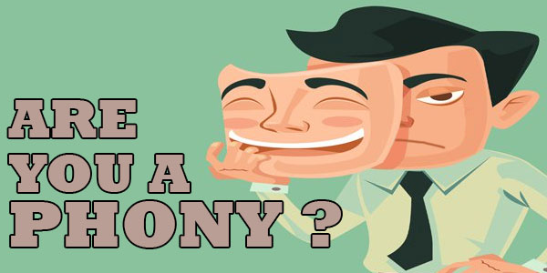 Are You A Phony?