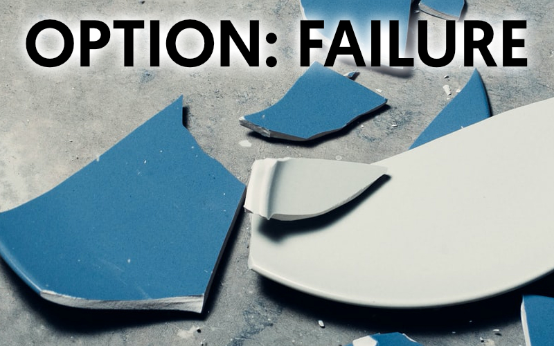 option: failure